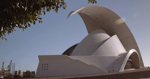 auditorio de Tenerife zdjęcie wideo