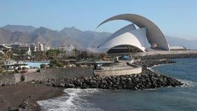 Auditorio de Tenerife, Espagne Photos stock