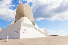 Auditorio de Tenerife, Espanha Fotografia de Stock Royalty Free