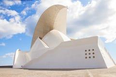 Auditorio de Tenerife, Espanha Imagem de Stock