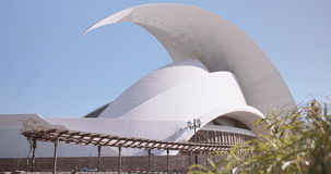Auditorio de Tenerife stock footage