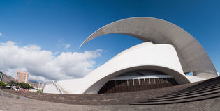 Auditorio de Tenerife in Spain by Calatrava Stock Photo