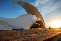 Auditorio de Tenerife Royalty Free Stock Images