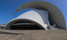Auditorio de Tenerife in Tenerife, Spain Stock Photo