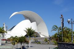 Auditorio de Tenerife in Tenerife Royalty Free Stock Photography