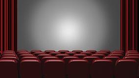 Auditorio del cine libre illustration