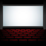 Auditorio del cine ilustración del vector
