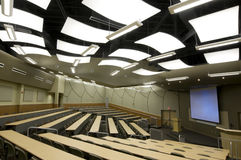 Auditorio en la universidad Imágenes de archivo libres de regalías