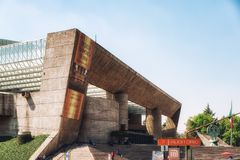 Auditorio Nacional, Nationaal Auditorium, Mexico-City stock fotografie