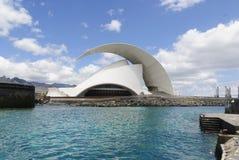 Auditorio. Santa Cruz de Tenerife Immagine Stock