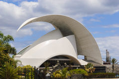 Auditorio. Santa Cruz de Tenerife Fotografia Stock Libera da Diritti