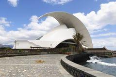 Auditorio. Santa Cruz de Tenerife Fotografie Stock
