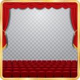 Auditorio transparente de la etapa libre illustration