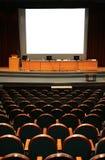 Auditorio vacío fotografía de archivo
