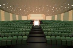 Auditorio vacío de la conferencia libre illustration