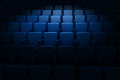 Auditorio vacío del cine ilustración del vector