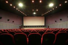 Auditorio vacío del cine imagen de archivo