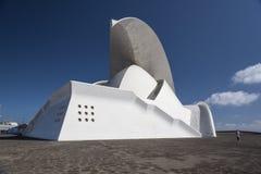 Auditorioen de Tenerife Royaltyfri Foto