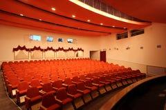 Auditorium. Interior of the big auditorium at theatre royalty free stock photos