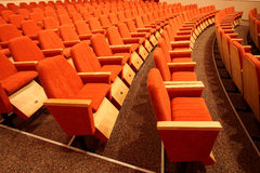 Auditorium Royalty Free Stock Photo