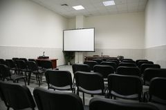 Auditorium 2 Royalty Free Stock Image