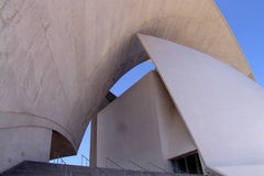 Auditorium. Of Tenerife, Spain Royalty Free Stock Images