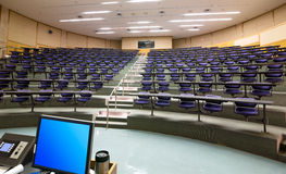 Auditorium Fotografia Stock Libera da Diritti