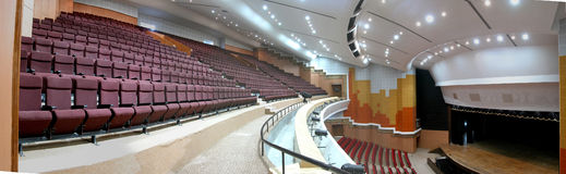Auditorium Royalty-vrije Stock Afbeeldingen