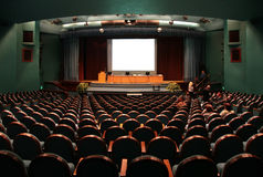 Auditorium Royalty Free Stock Image