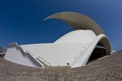 Auditorium. Tenerife Auditorium opera by Santiago Calatrava Royalty Free Stock Photography