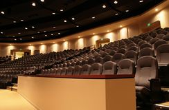 Auditorium Balcony Royalty Free Stock Photo