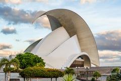 Auditorium bei Santa-Cruz de Tenerife Stockfotografie