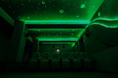 Auditorium in cinema Stock Photography