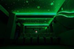 Auditorium in cinema Stock Photography