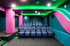 Auditorium in cinema Royalty Free Stock Image