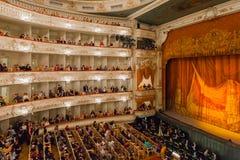 Auditorium des Mikhailovsky-Theaters, StPetersburg Lizenzfreie Stockbilder