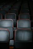 Auditorium. Empty theater auditorium chairs detail stock photography