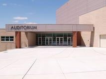 Auditorium entrance Royalty Free Stock Photo