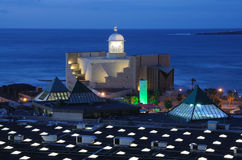 Auditorium in Gran Canaria Stock Images
