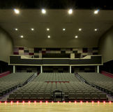 Auditorium at High School Stock Photo