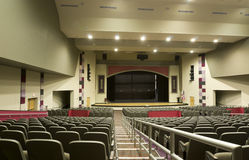Auditorium at High School Stock Photography