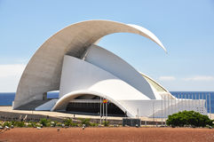 Auditorium - the home to the Tenerife Symphony Orchestra Stock Images