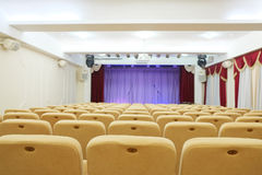 An auditorium Royalty Free Stock Image