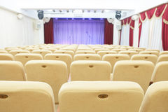 An auditorium Stock Photo