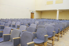 Auditorium. Interior of an empty auditorium Stock Photo