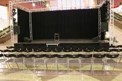 Auditorium in markt stock foto's