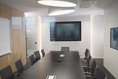 Auditorium moderno di riunione immagini stock libere da diritti