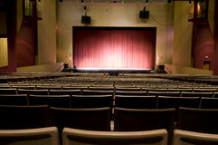 Auditorium at Performing Arts Center Royalty Free Stock Image