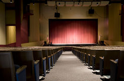 Auditorium at Performing Arts Center Stock Photos