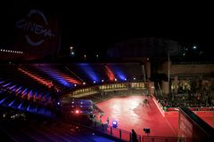 Auditorium in Rom Lizenzfreies Stockbild